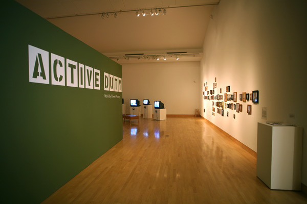 Owen Mundy, Active Duty exhibition