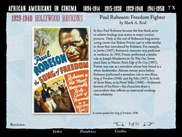 African Americans in Cinema: The First Half Century CD-ROM