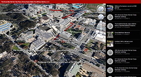 The Drone War Did Not Take Place Map, ,