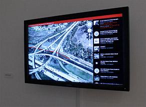 Drone tracker application at Herron School of Art & Design , ,