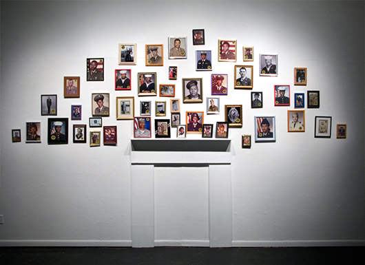 To My Dearest and Beloved Family York, AL, archival ink jet prints and community action, dimensions variable, 2013