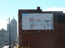 Think Before You Act, by Zech, Billboard Generation II, Indianapolis, IN, 2004